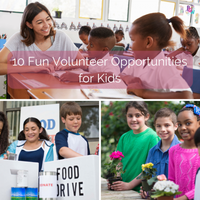 Featured Image for Volunteer Opportunities for Kids